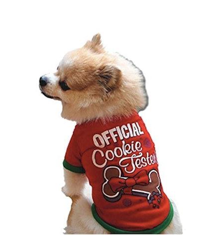 Christmas Puppy Jumpsuit