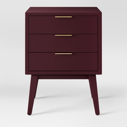 Project 62 Hafley Three Drawer End Table