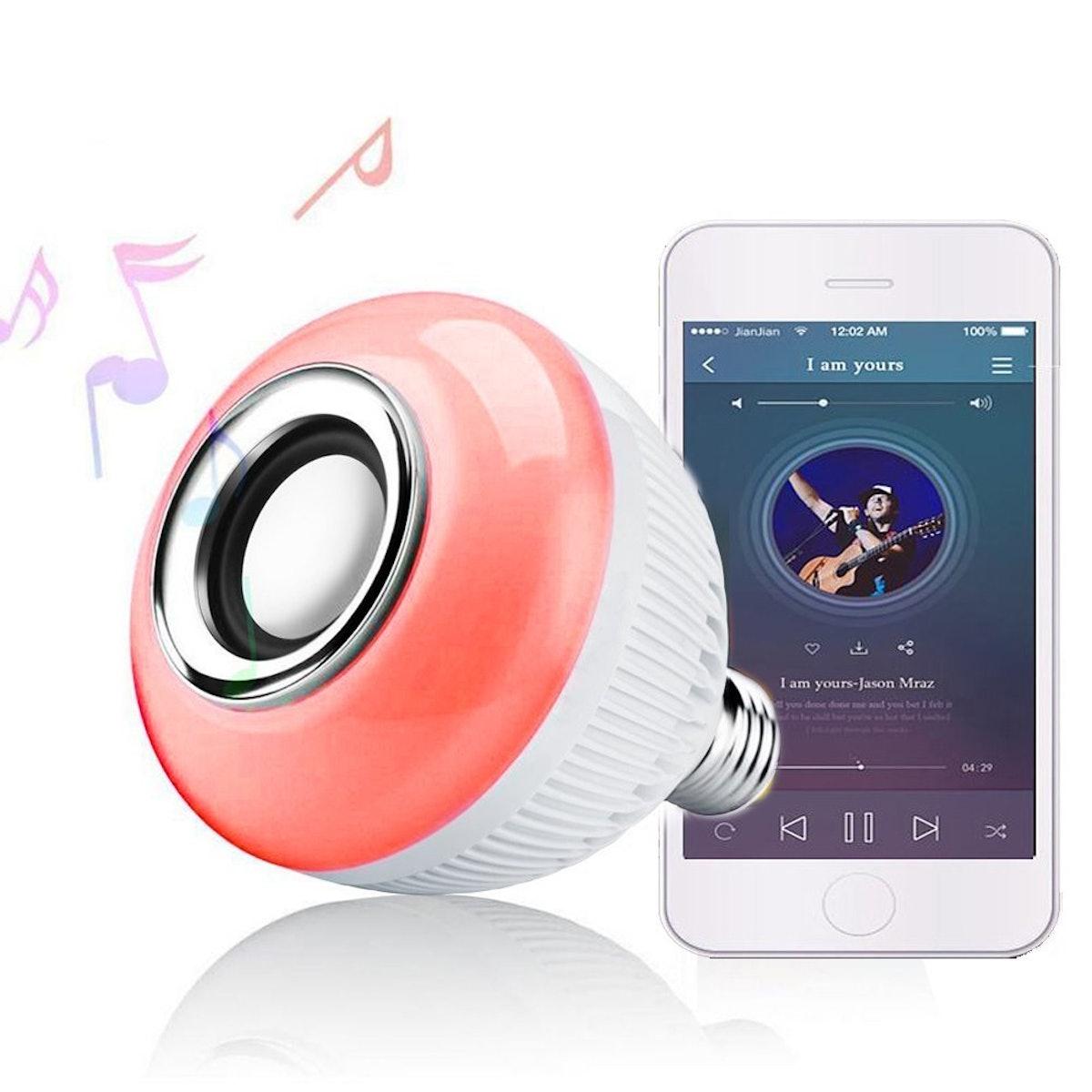 RAYWAY Bluetooth Speaker LED Smart Bulb