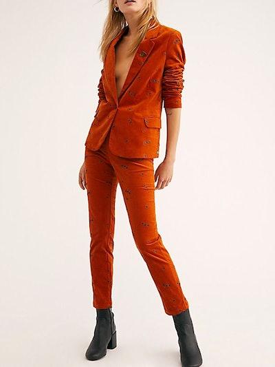 Fine Corduroy Suit