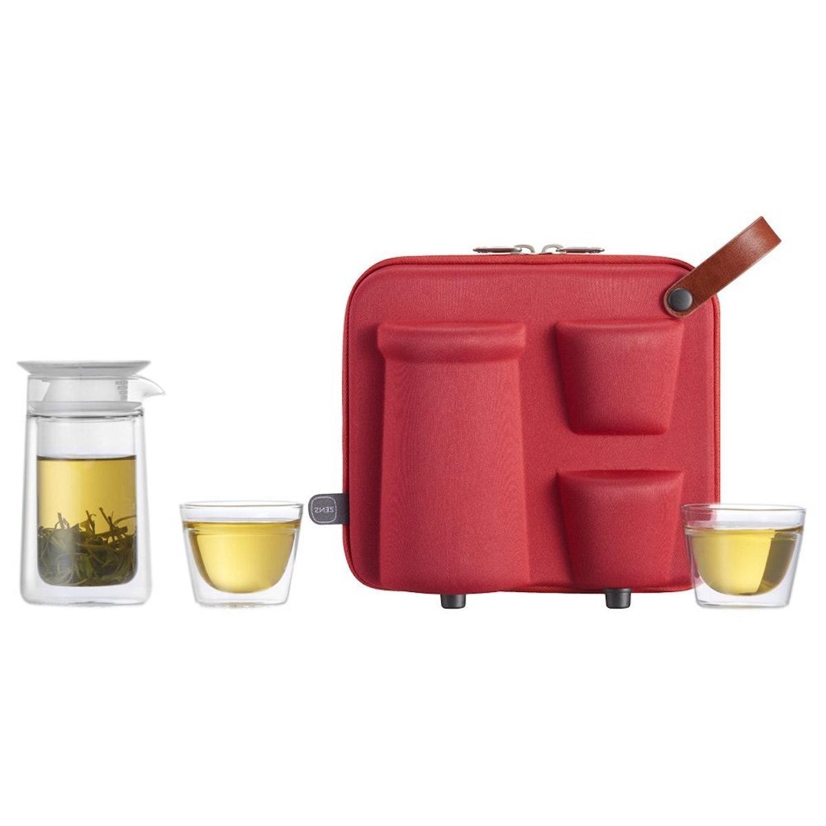 ZENS Portable Travel Tea Set