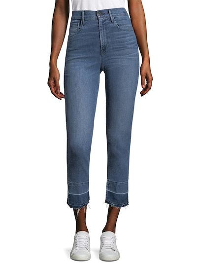 Abigail Crop Split Hem Jeans