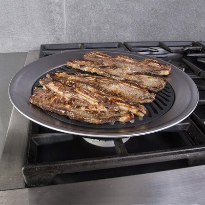 Kitchen + Home Stovetop Smokeless Grill