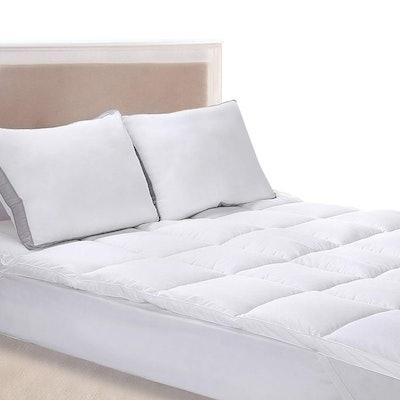 Utopia Bedding Polyester Mattress Topper