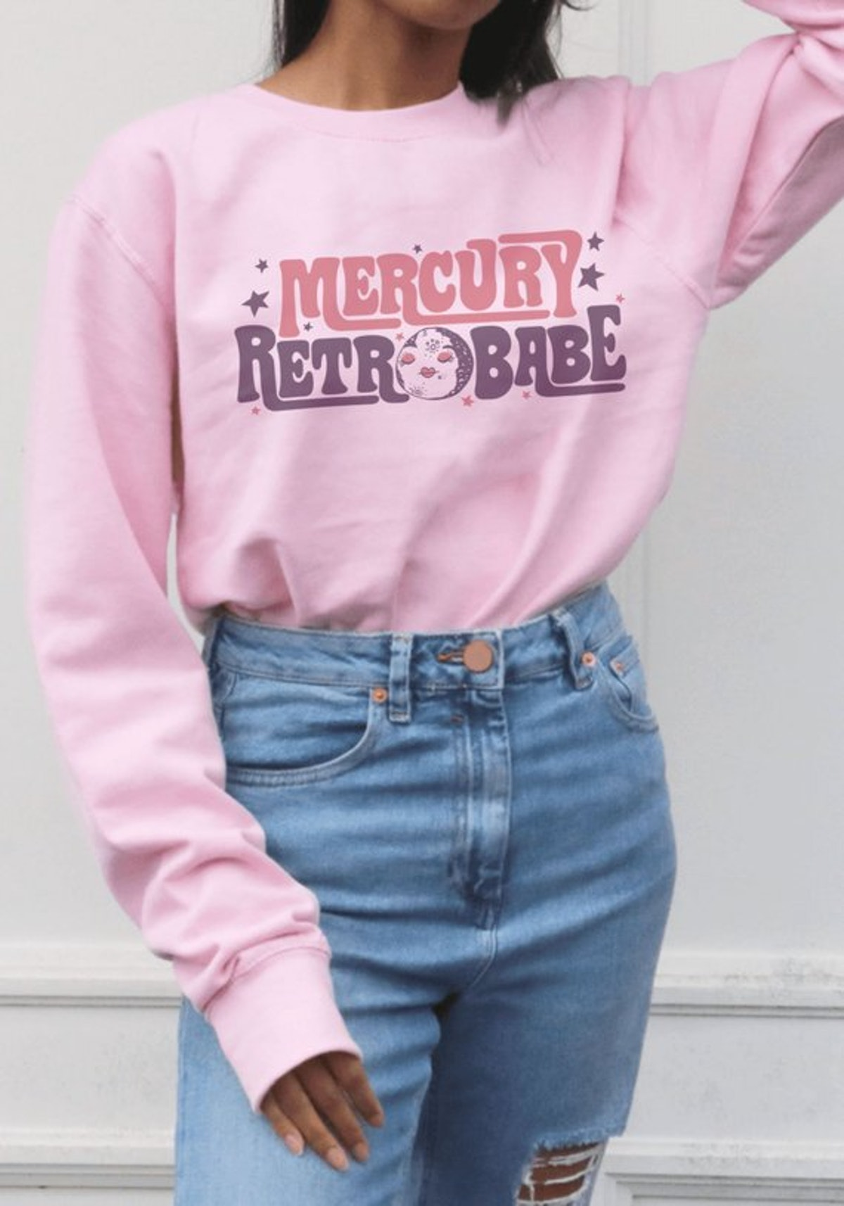 Mercury Retrobabe Sweatshirt