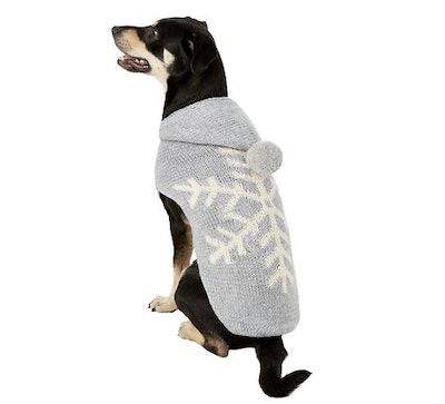 Alpaca Grey Snowflake Dog
