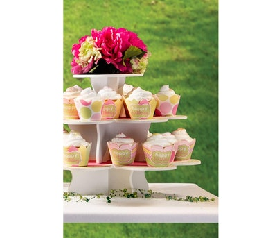 The Smart Baker Flower Cupcake Tower Stand