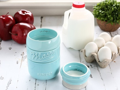 Mason Jar Measuring Cups Set