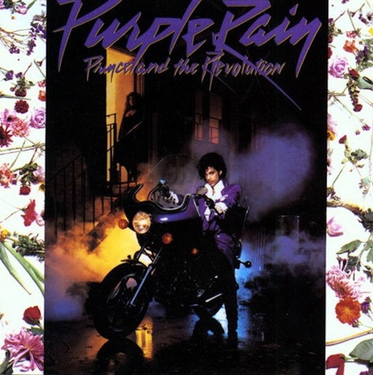 Purple Rain Vinyl Record