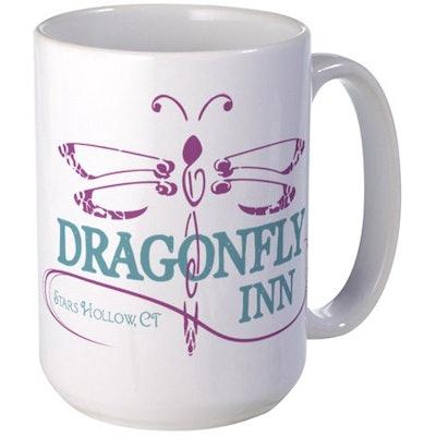 CafePress - Gilmore Girls Dragonfly I - 15 oz Ceramic Large Mug