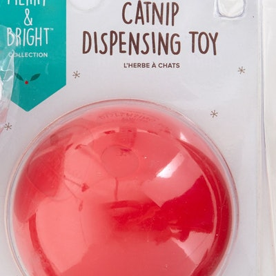 Holiday Catnip Dispensing Cat Toy