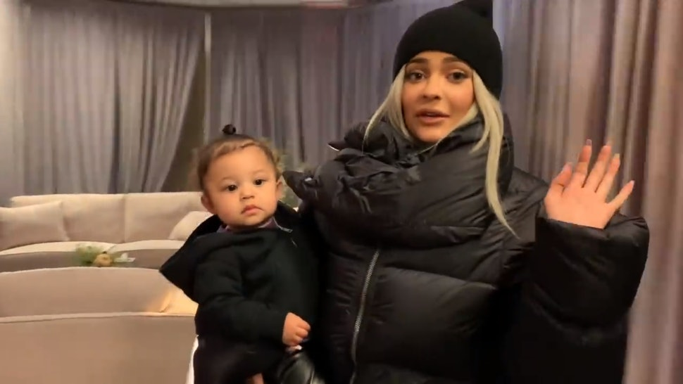 de4bea25aafb Kylie Jenner's New Stormi Video Takes You Inside Baby Webster's Fabulous  Life On Tour With Her Parents
