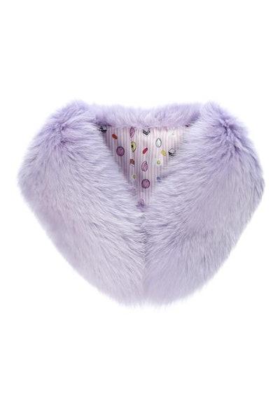 Faux Fur Princess Collar