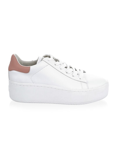 Cult Platform Leather Sneakers