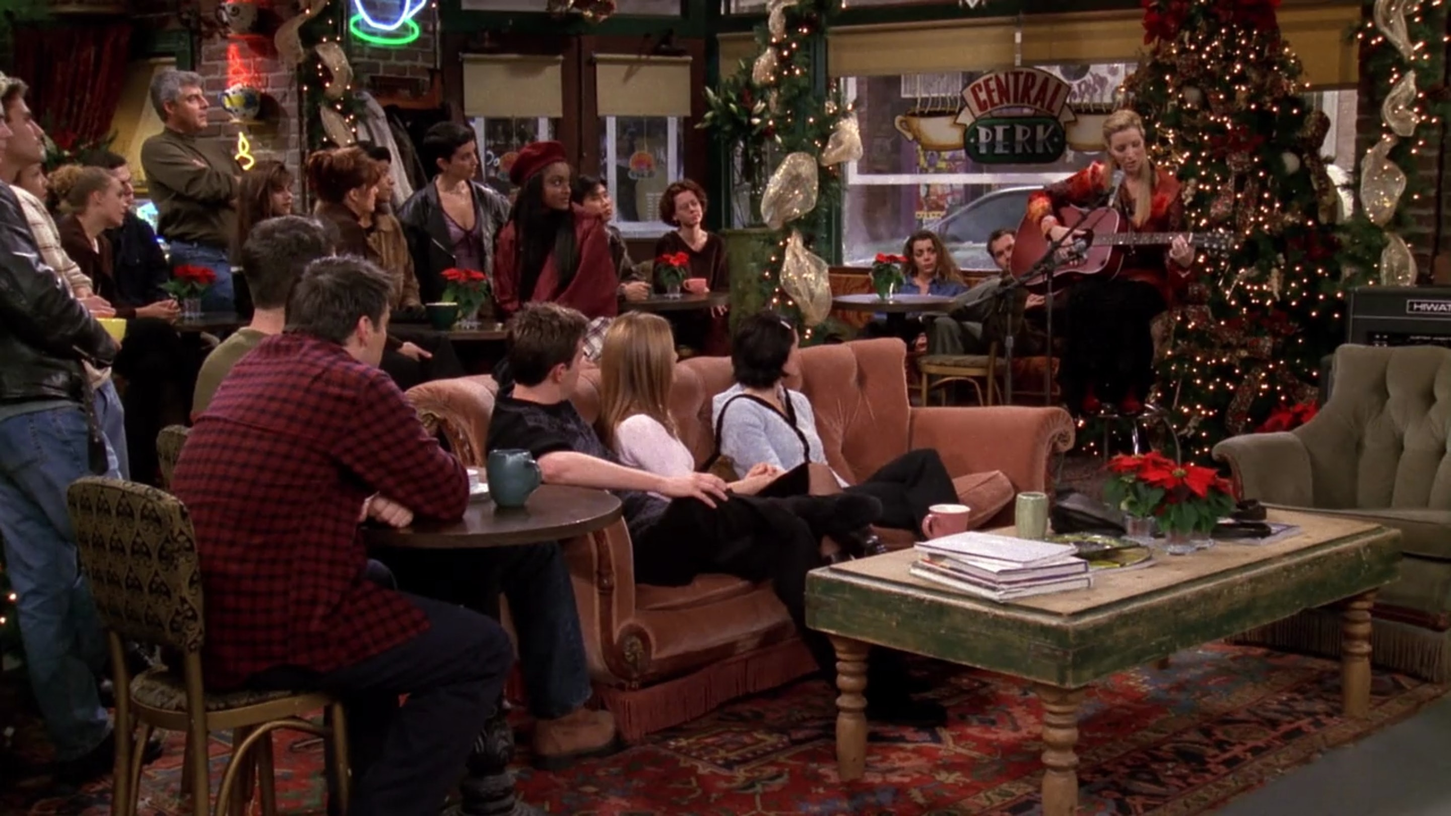 9 Christmas Episodes Of 'Friends' To