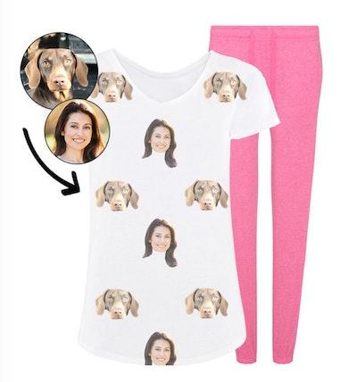 Dog & Owner Ladies Pyjama Set
