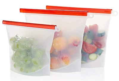 Criss Elite Reusable Silicone Bags (Set of 3)