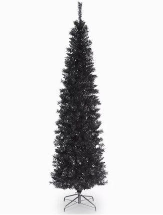 Black Christmas Trees Are An Unexpected 2018 Trend   The Pictures Are  Stunning 46f653649