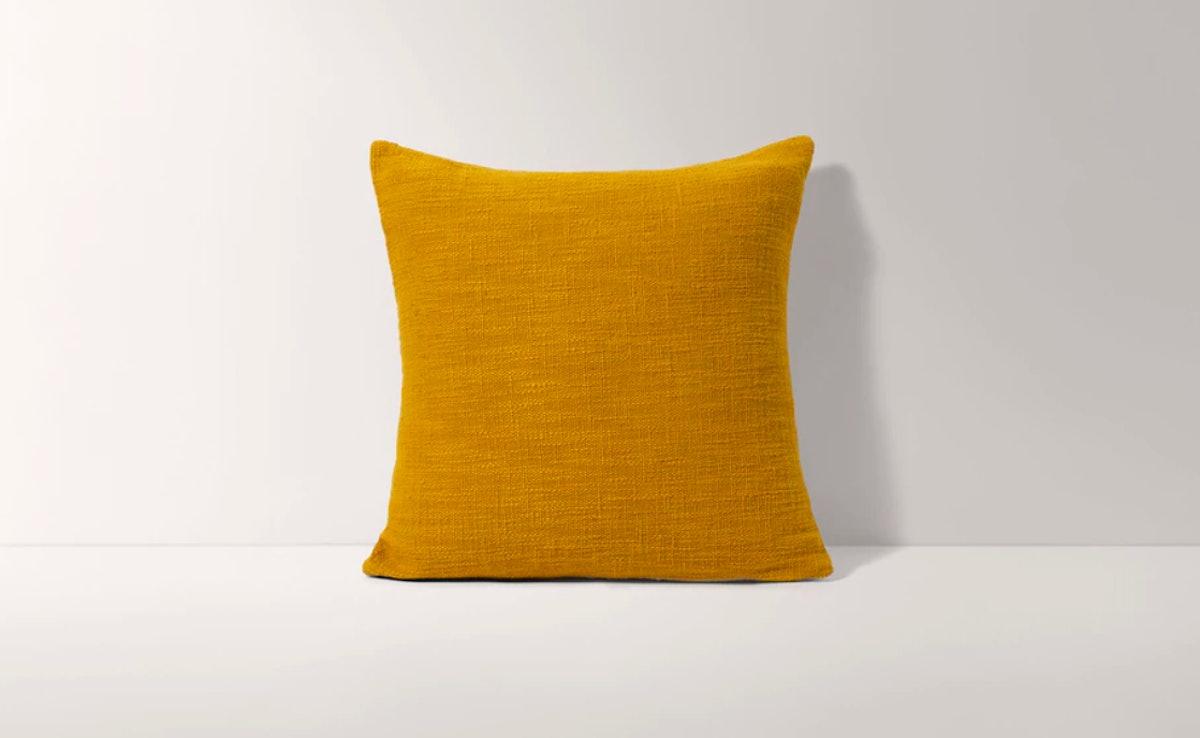 Essential Honey Square Pillow Cover