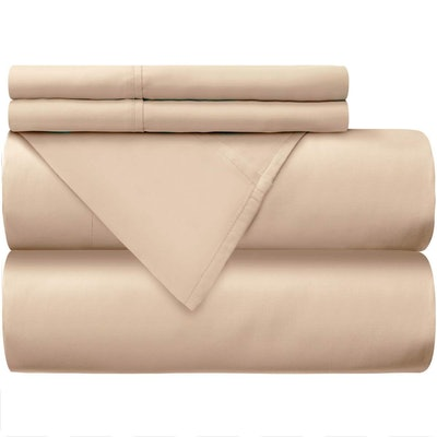 Mellanni 100% Cotton Bed Sheet Set