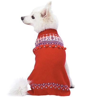 Fair Isle Icelandic Lopi Dog Pullover