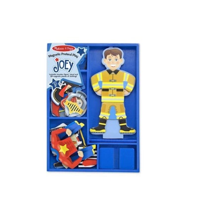 Joey Magnetic Wooden Dress-Up Pretend Play Set