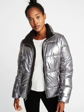 Metallic Frost-Free Jacket