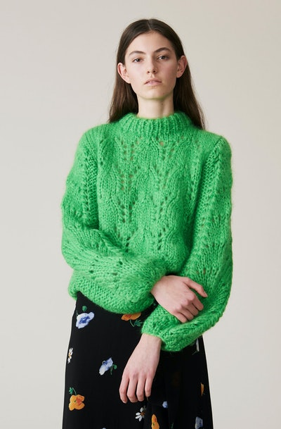 Hand Knit Wool Pullover