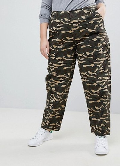 Bree Combat Pants in Camo