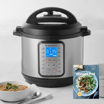 Instant Pot Duo Plus 8-Qt Programmable Pressure Cooker with Test Kitchen Cook Book