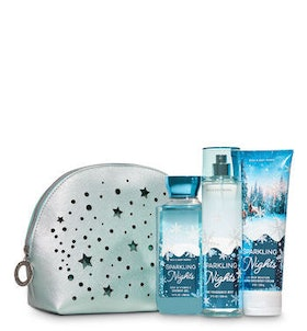 Sparkling Nights Cosmetic Bag Gift Set