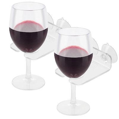 Bathtub Wine Glass Holders