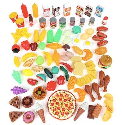 125 Piece Play Food Set