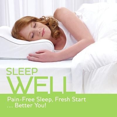 Sleep Innovations Travel Contour Pillow