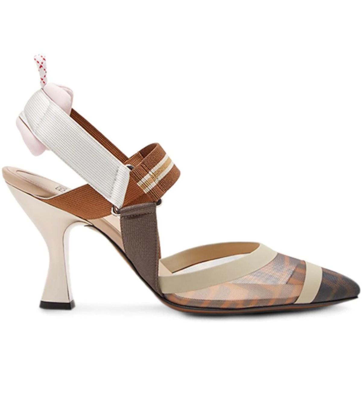 Slingback Court Shoes