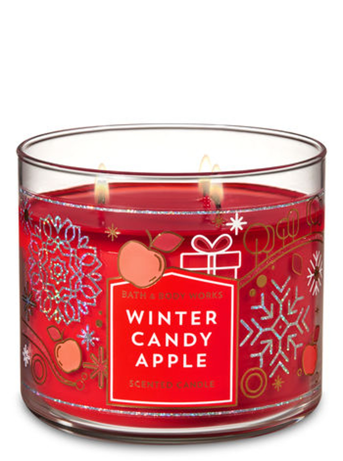 WINTER CANDY APPLE 3-Wick Candle