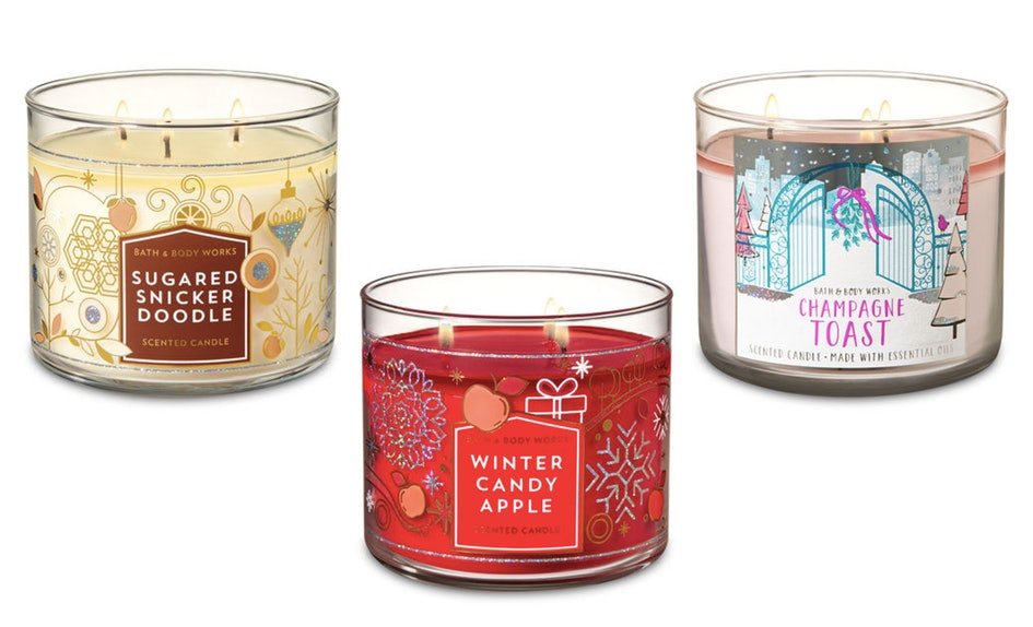 bath body works candle day sale is practically giving away 3 wick