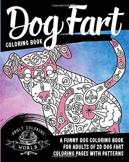 Dog Fart Coloring Book