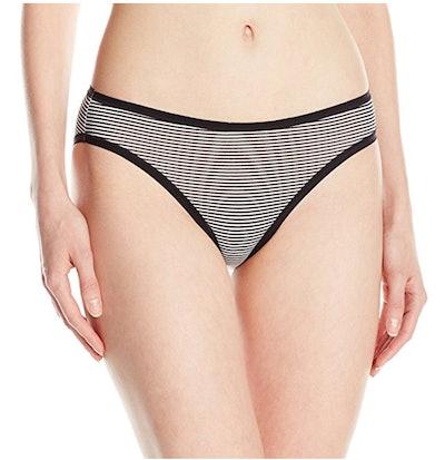 Amazon Essentials Women's Cotton Stretch Bikini Panty (XS-XXL) (6 Pack)