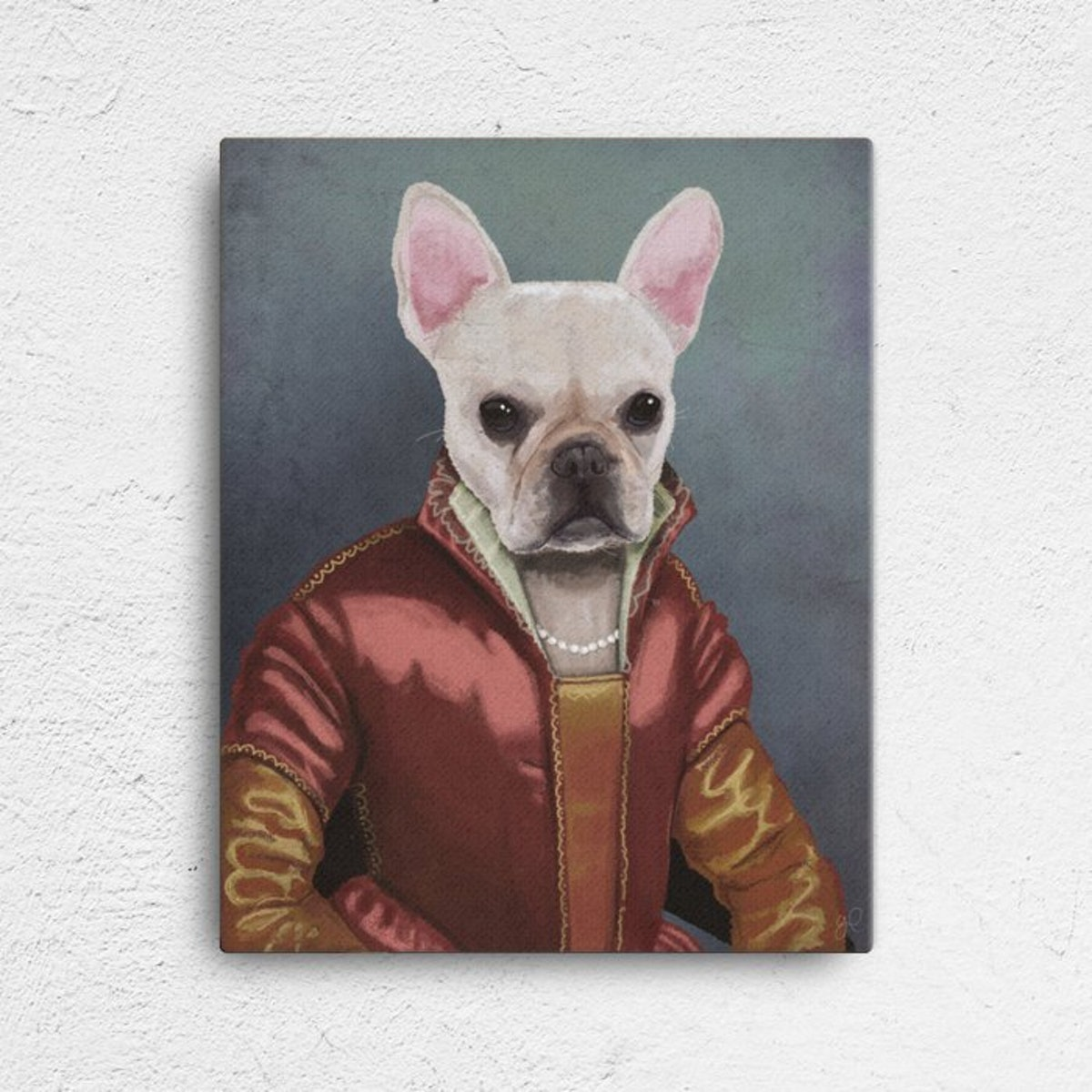 Custom Renaissance Pet Portrait
