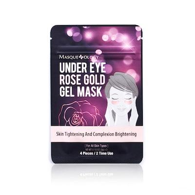 Masqueology Rose Gold Hydrogel Mask
