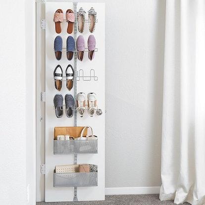 Utility Shoe Storage Door & Wall Rack