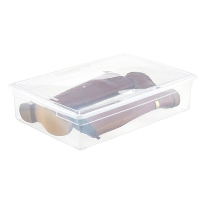 Clear Storage Boot Box