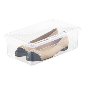 Clear Storage Flat Shoe Box