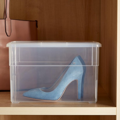Clear Storage Tall Shoe Box