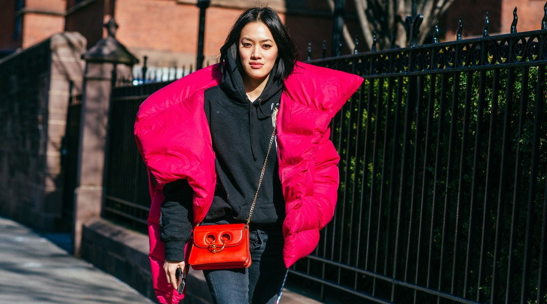 28f431e30fa12 Sleeping Bag Puffer Coats Are The Coziest Outerwear Trend You'll Wear This  Winter