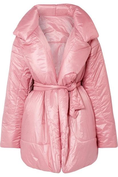 Pink Sleeping Bag Coat