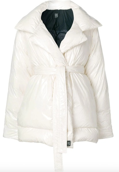 Belted Padded Coat