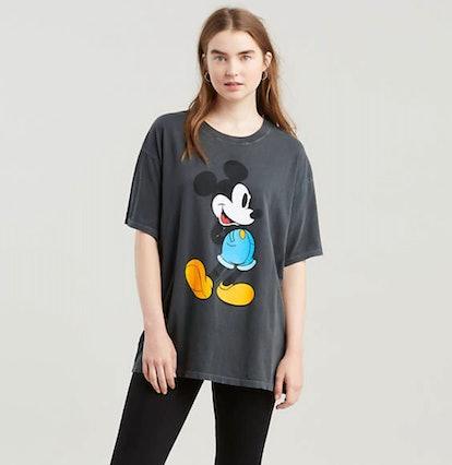 Levi's® X Disney Mickey Mouse Graphic Slacker Tee Shirt