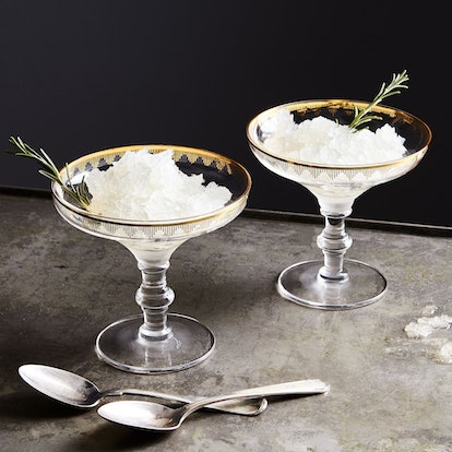 Kiss That Frog Gold-Detailed Dessert Coupes (Set of 4)